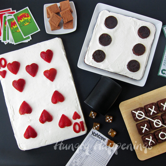 Have A Card Game Need Sweet Treat Create This Deck Of Cards Cake More Family Night Snack Ideas On Frugal Coupon Living Food Idea