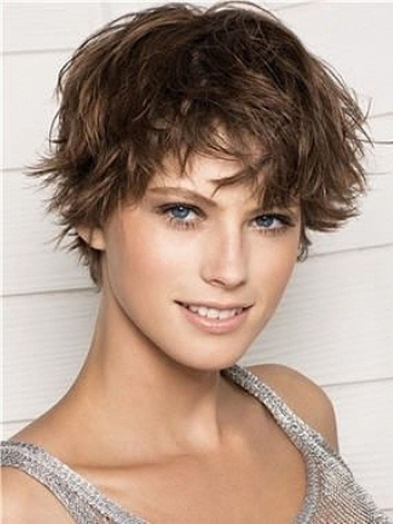 Image result for very short haircuts for wavy hair haircutsstyles
