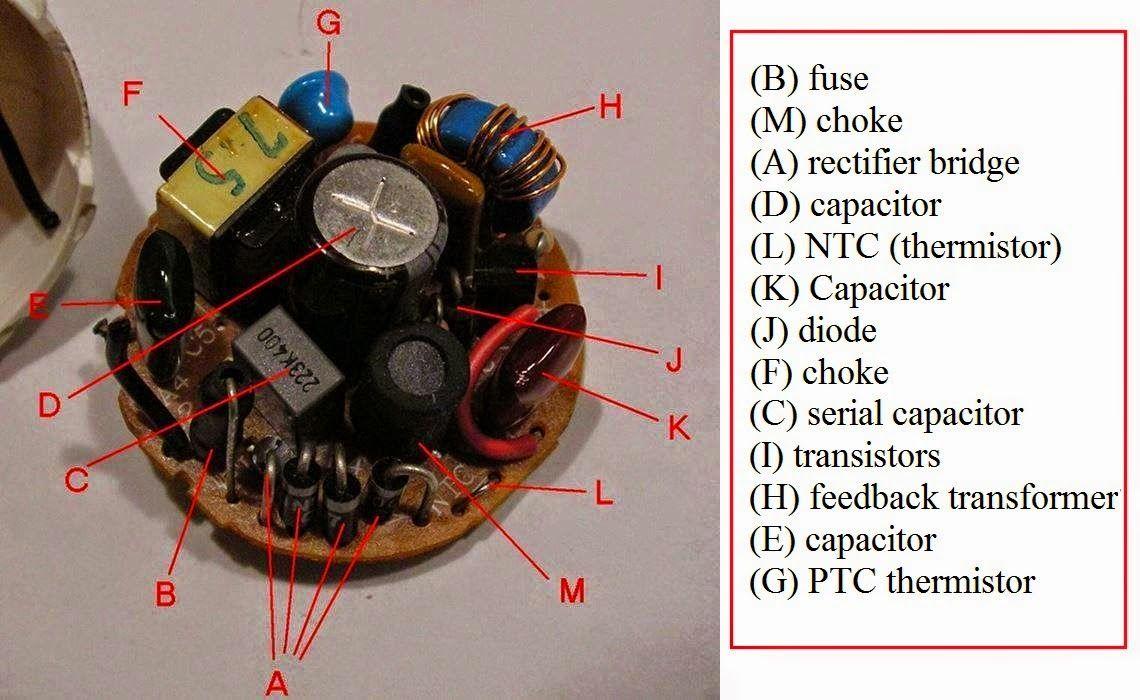 Electronic Ballast Principle Circuit Basiccircuit Circuit Diagram