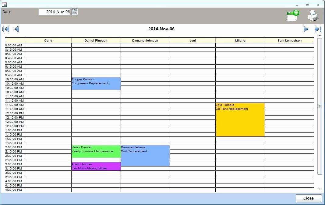 Microsoft Access Schedule Template Unique Microsoft Access Calendar Template Weekly Free D Schedule Template Daily Calendar Planner Gift Tag Template Printable