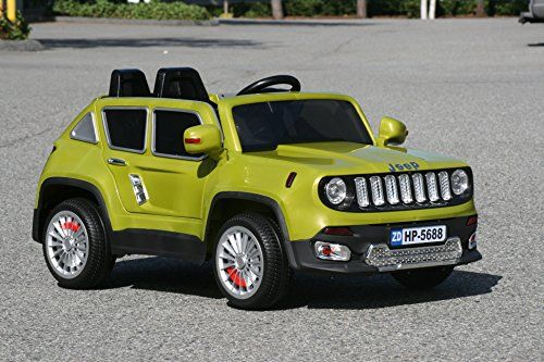 New 2015 Jeep Renegade Style 12v Kids Boys Girls Ride On Power