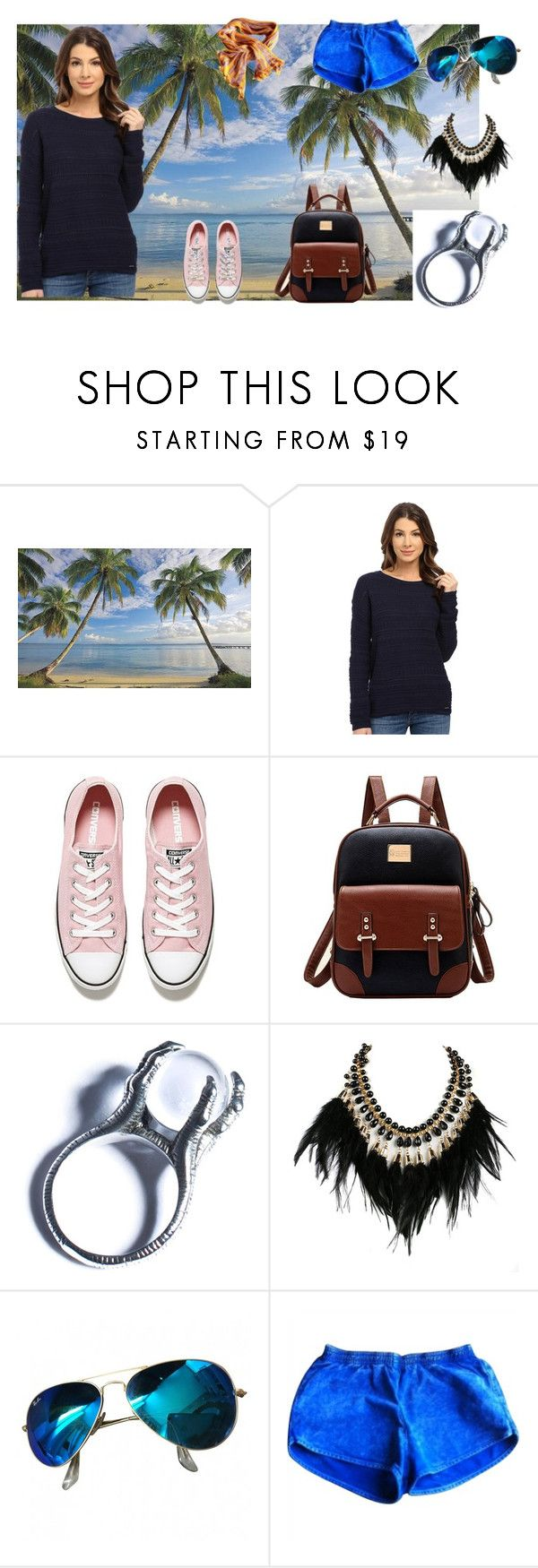 """""""s"""" by utitito on Polyvore featuring Universal Lighting and Decor, U.S. Polo Assn., Converse, Kill Star, WithChic, Ray-Ban, American Apparel and Missoni"""