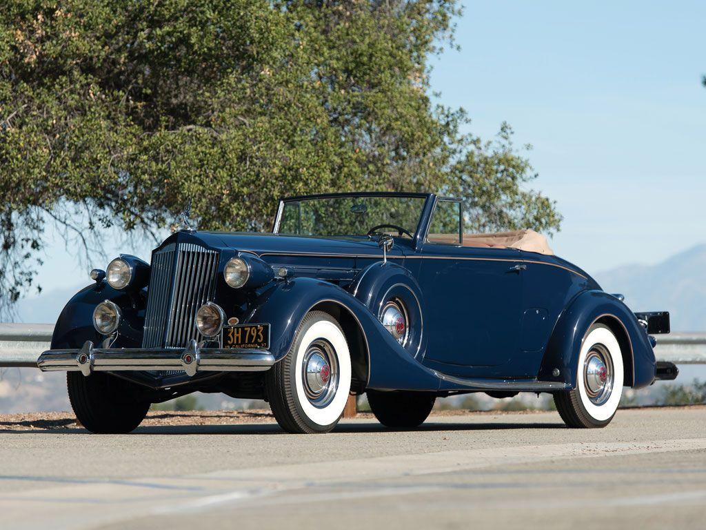 1937 Packard Twelve Coupe Roadster - (Packard Motor Car Company ...