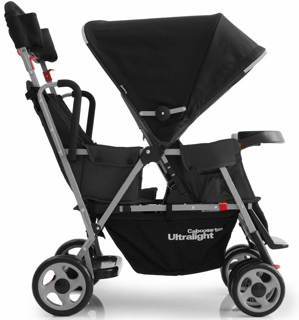 Joovy Ergo Caboose Black Stroller, Tandem stroller