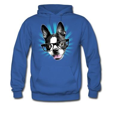 Cartoon Boston Terrier with Rose Here is why I love Boston Terrier