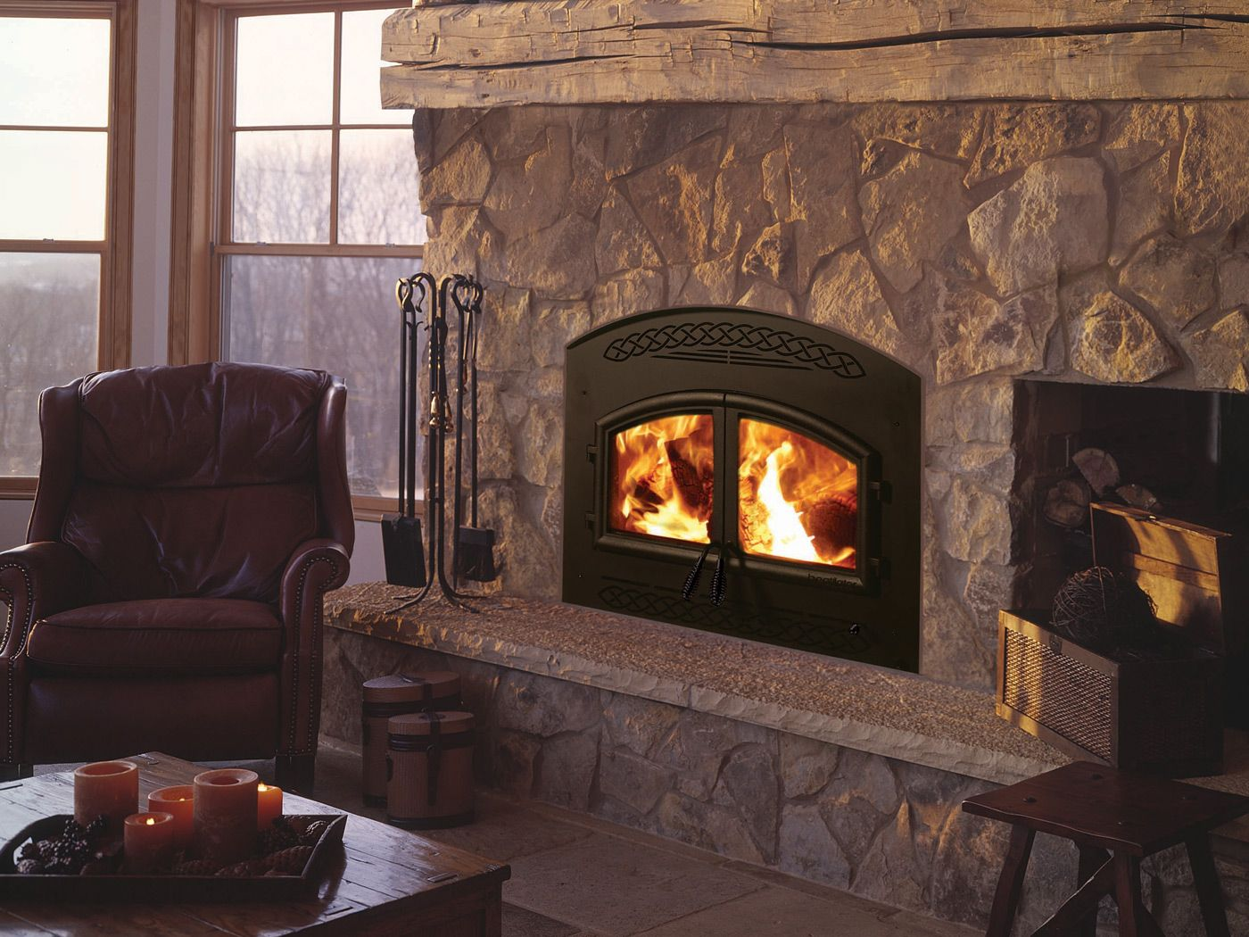 Heatilator constitution wood fireplace fireplace and stove