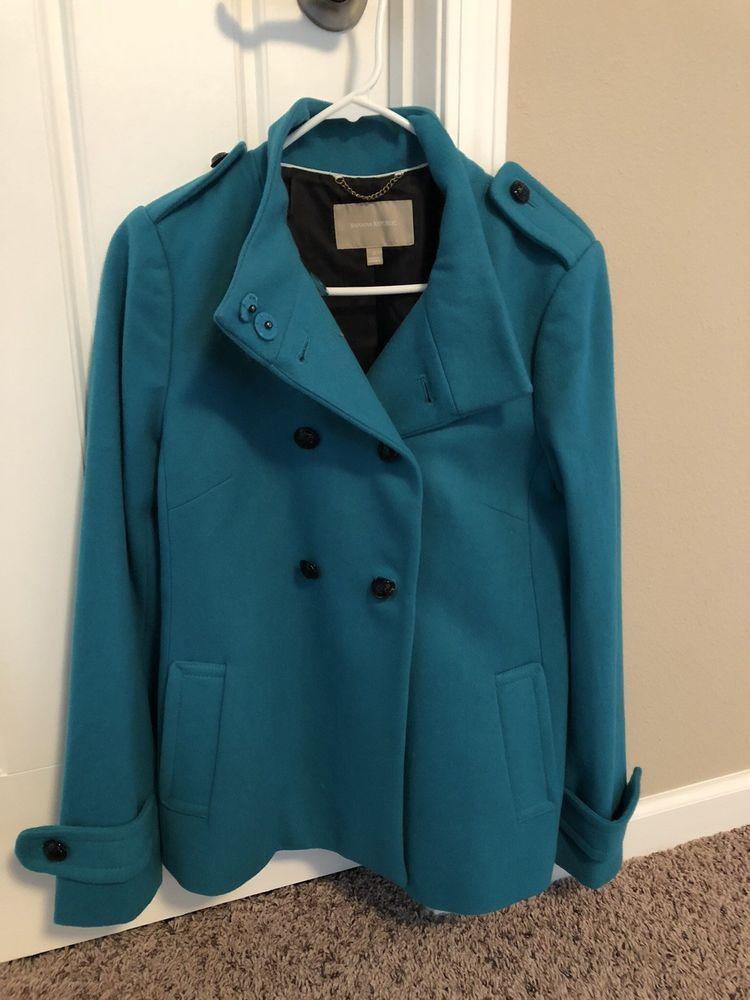 b38db60359 Banana Republic Womens Wool Coat Teal Small  fashion  clothing  shoes   accessories  womensclothing  coatsjacketsvests (ebay link)