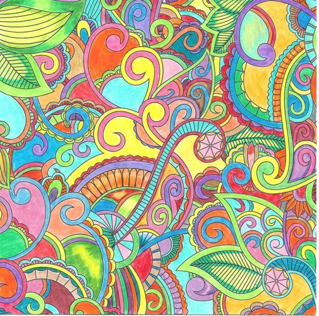 2016 10 02 uit happiness gewoon met kleurpotlood met