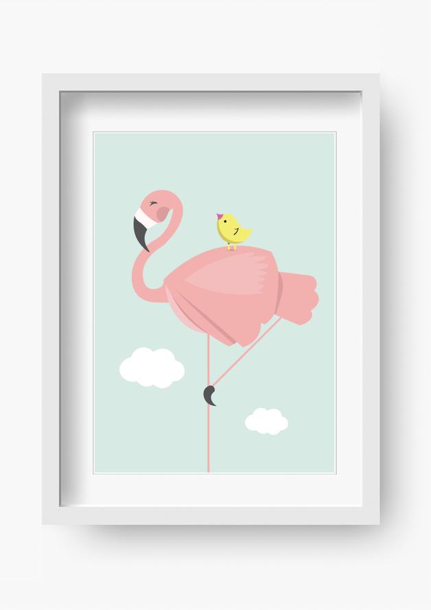 "kinder poster ""miss lina"" (kinderzimmer bild) | poster, stabil und"