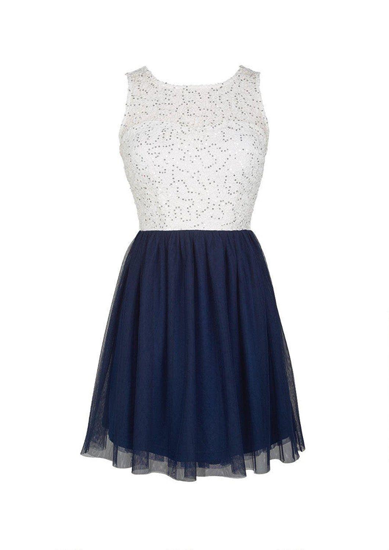 Delia S Juniors Sequin Lace And Tulle Dress Xl Navy At Amazon Women S Clothing Store Grad Dresses Promotion Dresses School Dance Dresses [ 1500 x 1059 Pixel ]