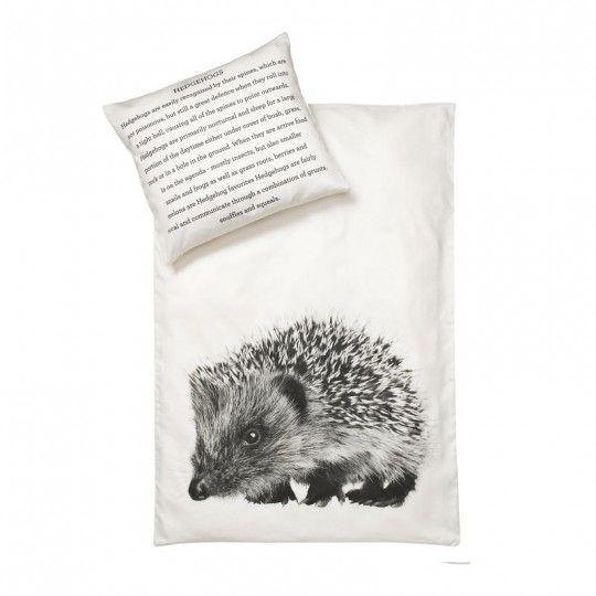 Hedgehog Baby Duvet Cover Case 70x100 Baby Duvet Linen