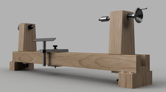 build a woodturning lathe wood lathe pinterest drehbank drechseln und werkstatt. Black Bedroom Furniture Sets. Home Design Ideas