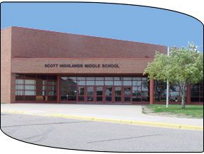 Scott Highlands Middle School: Apple Valley, MN  This was my middle