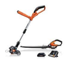 Worx 18-Volt Lithium Ion Cordless String Trimmer/Blower Combo Kit
