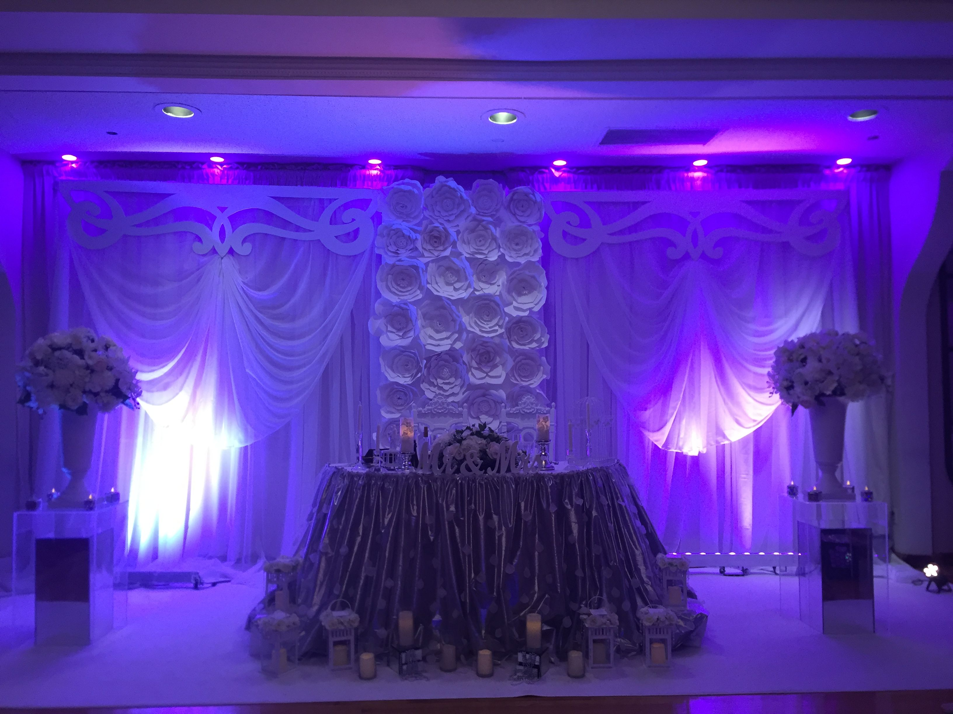 Wedding stage decoration images in hd  Pin by Lv Flowerevents on Backdropbylinda Linda event ideas