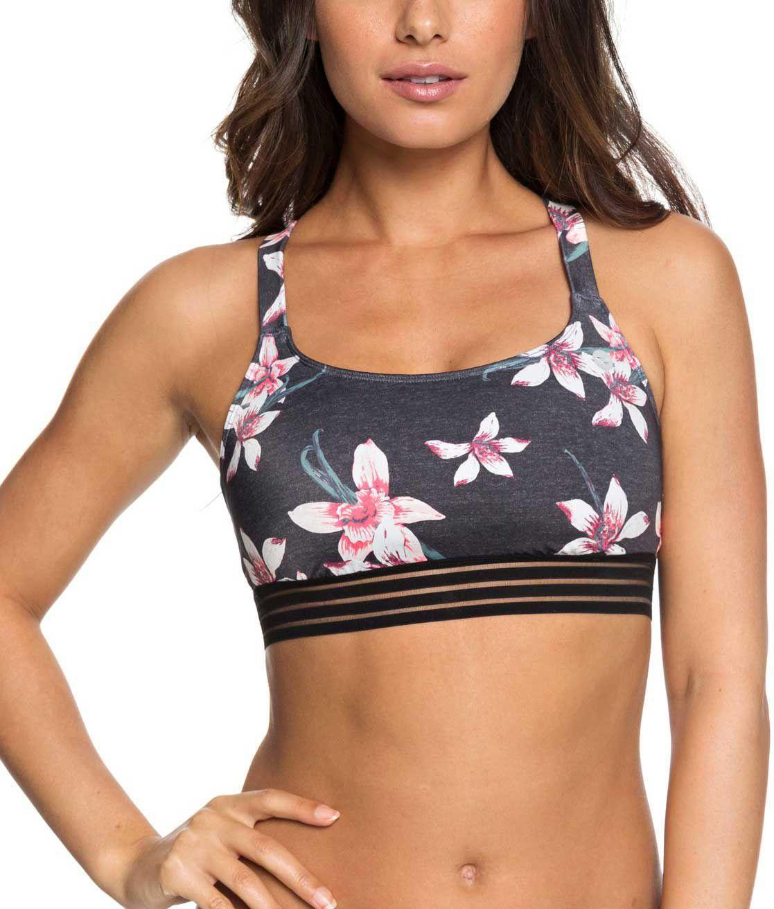 b8daed5c9fc Roxy Women's Fitness Sports Bikini Top in 2019 | Products | Sport ...