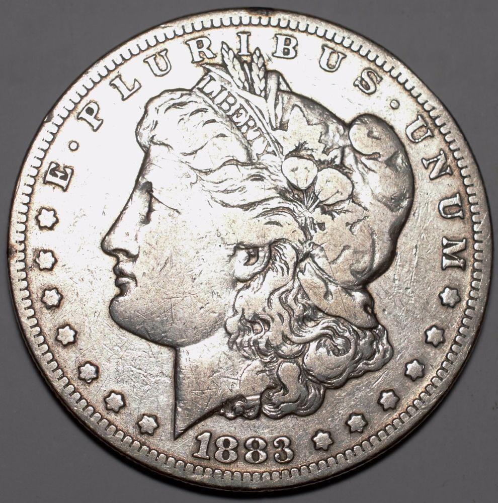 1883CC 1 Silver DollarFINE Carson CityFree USA