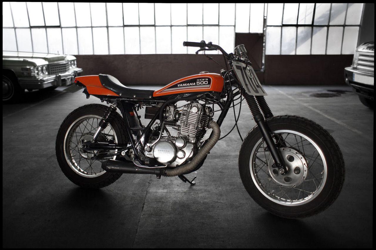 Yamaha XR 500 at See See Motor Coffee Co. Bike