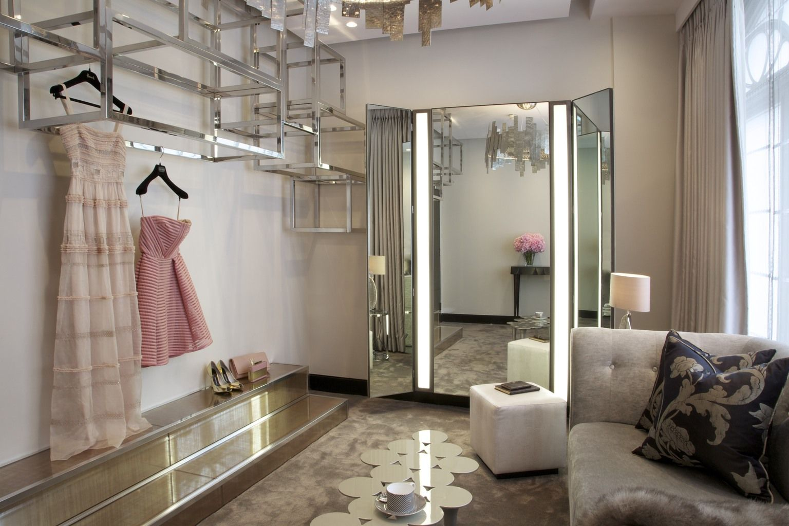 By appointment personal shopping at harrods 37 mood butterfly room pinterest harrods for Personal shopper interior design