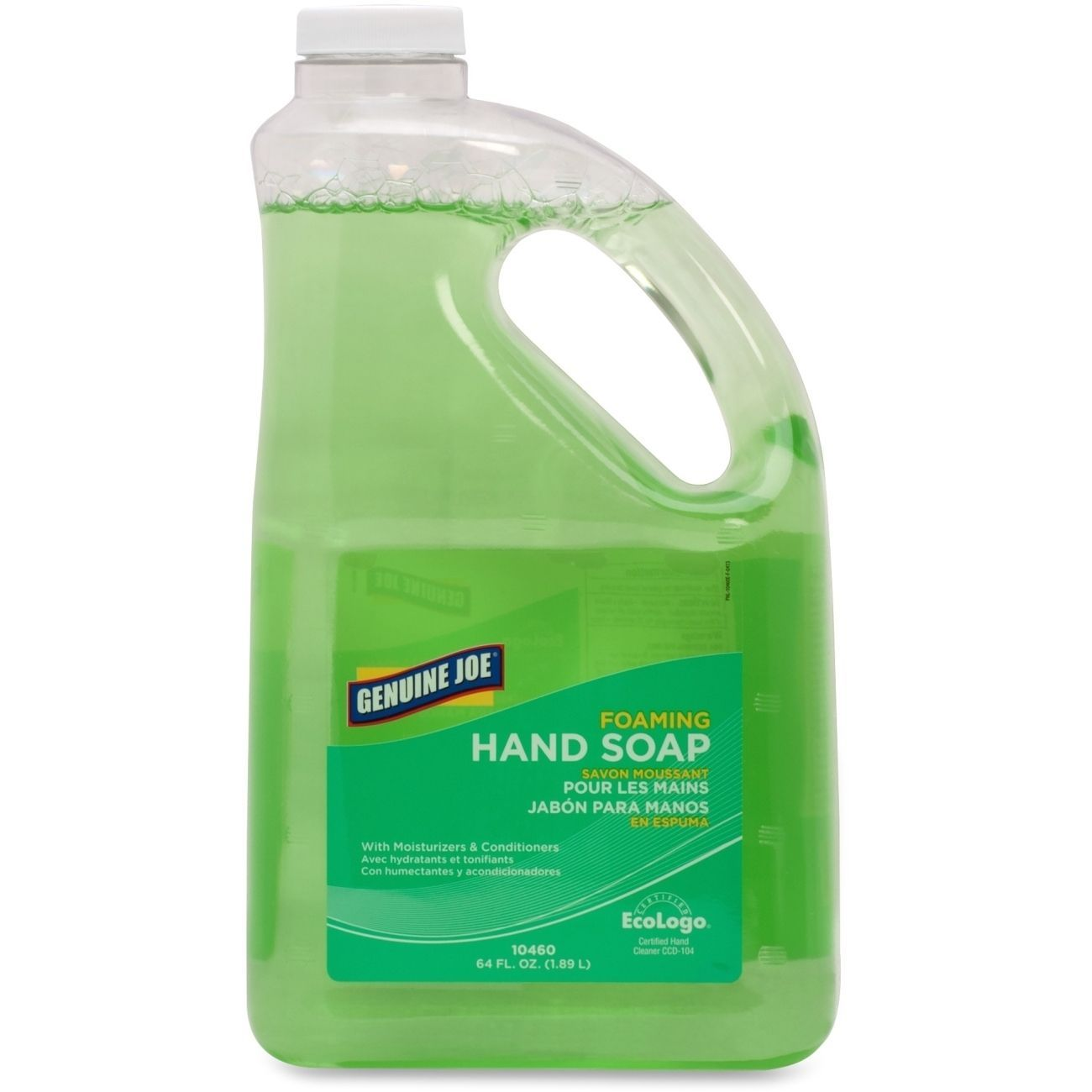 Genuine Joe Foaming Hand Soap Master Green Liquid Hand Soap