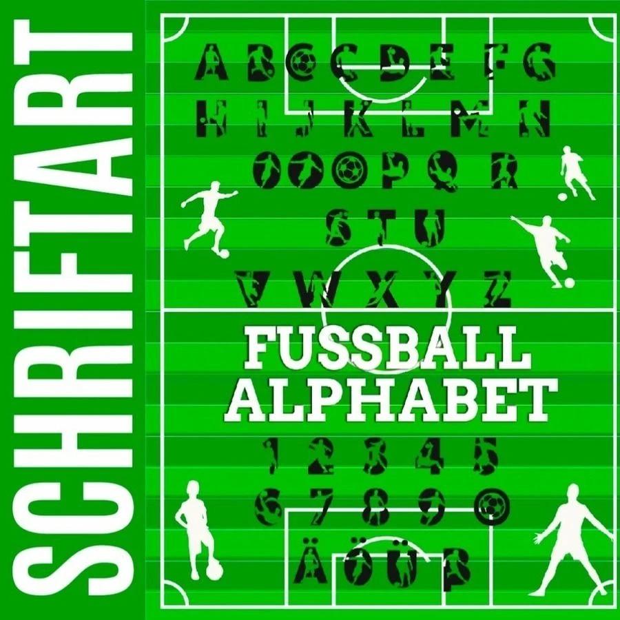 Fußball Federmäppchen mit Name Schriftartwahl
