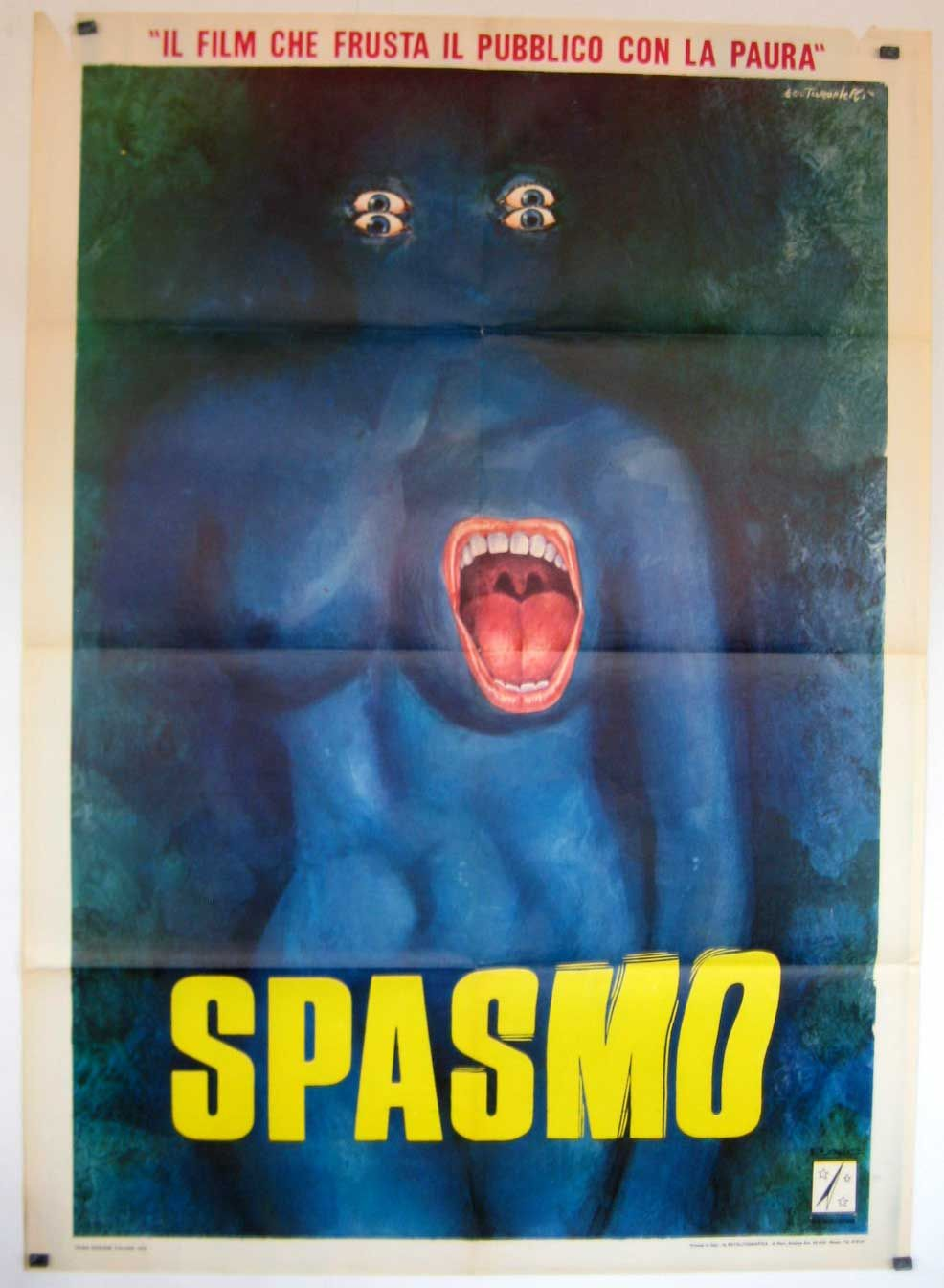 Original Film Title: SPASMO Poster Title: SPASMO Director: UMBERTO LENZI Year: 1974 Film Nationality: ITALIA