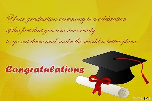 Congratulations Wishes for your Graduation Day