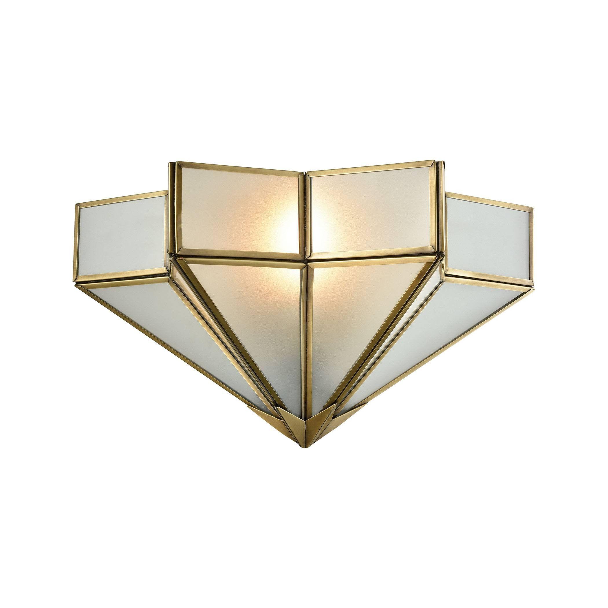 1984fcd350d7 Art Deco Glass Sconce Light Fixture