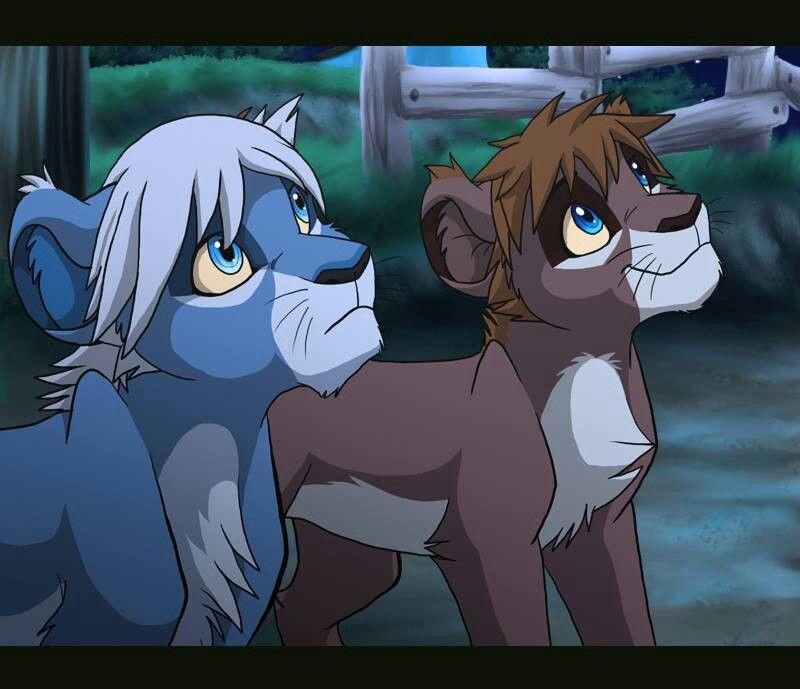 Mangareader Kingdom 545: Riku And Sora In Lion Form