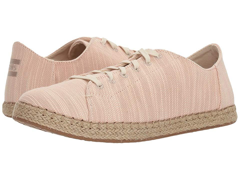 TOMS Lena Bloom Slubby Cotton Womens Lace up casual Shoes With every pair of shoes you purchase TOMS will give a new pair of shoes to a child in need One for One The TOMS...