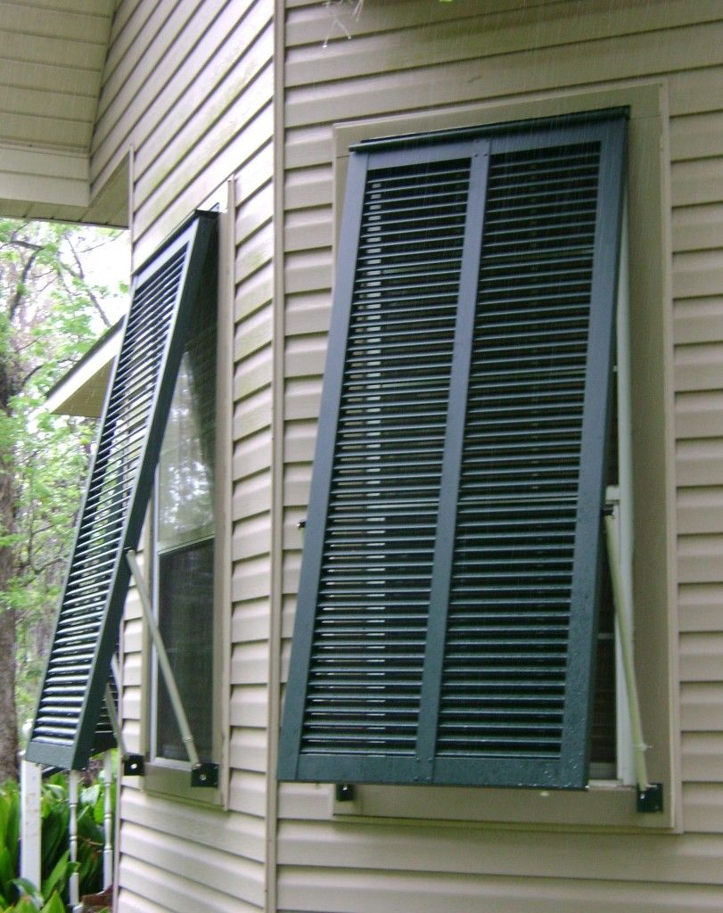 Pocket Accordion Hurricane Shutters DIY Home Security