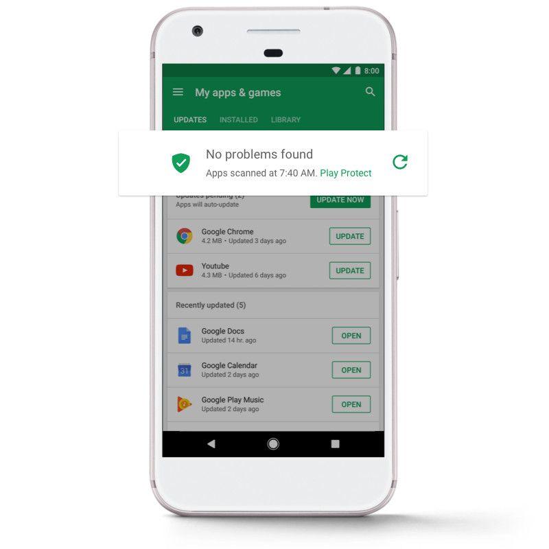 Качать на андроид защиту приложений