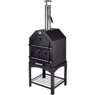 La Hacienda Steel Multi Function Pizza Oven Outdoor Oven