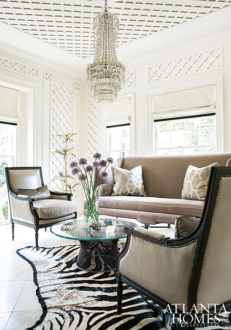 Interiors Southern Charm Meets Modern Glamour Home Atlanta Homes Interior
