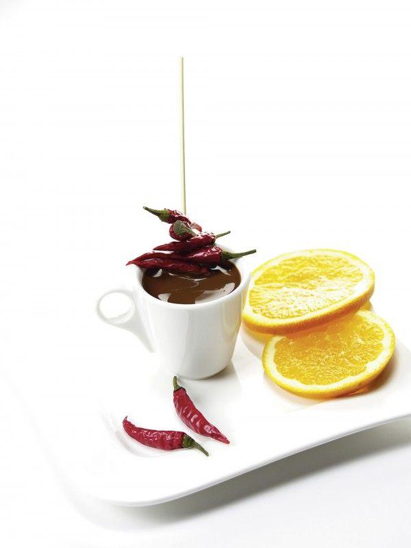 Tanja Riedel Süße Schokolade mit scharfer Chili