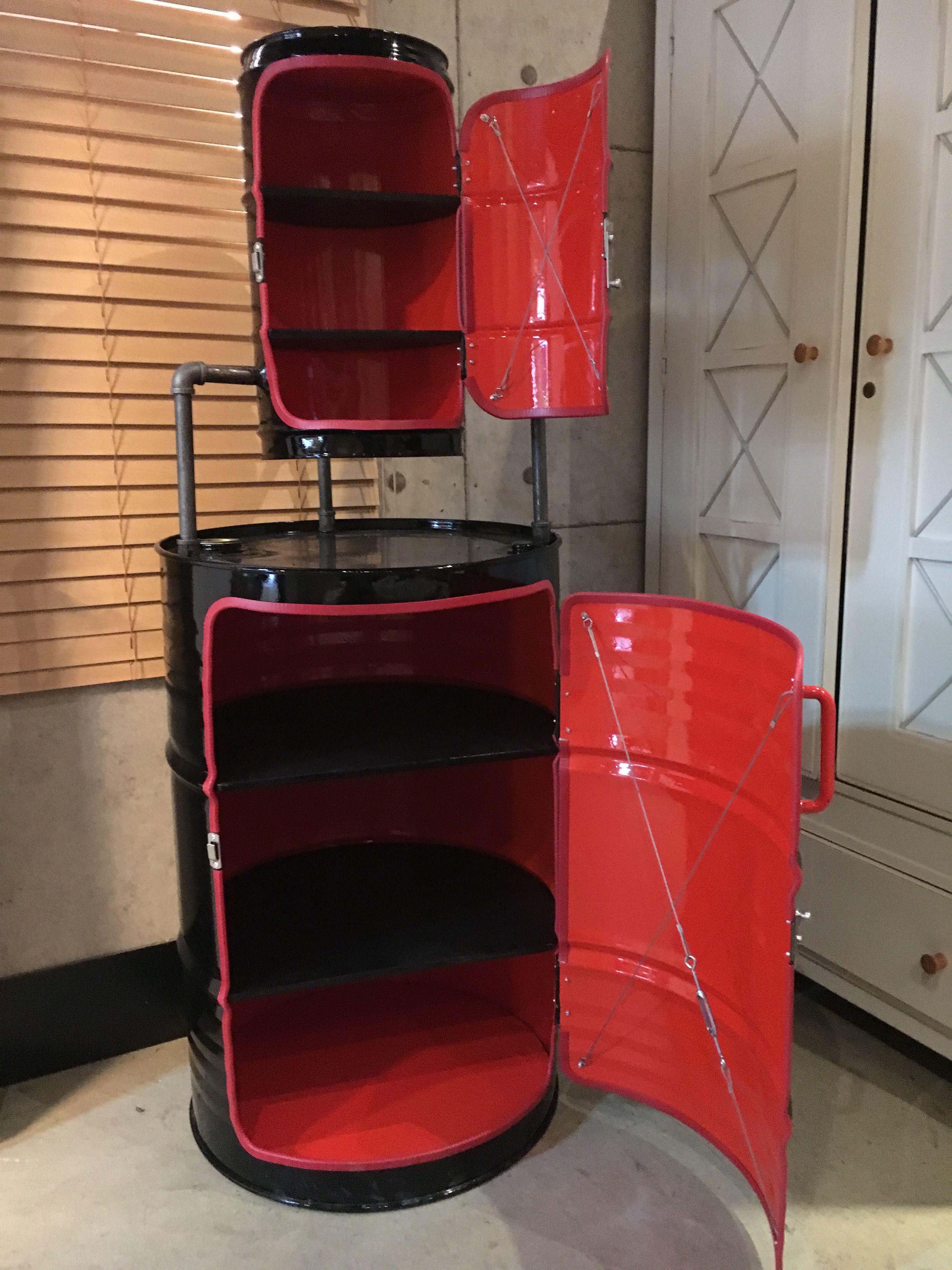 diy oil drum remodeling how to make a oil drum cabinet. Black Bedroom Furniture Sets. Home Design Ideas