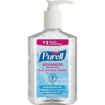 First Responders Healthcare Only Purell Advanced Gel Hand