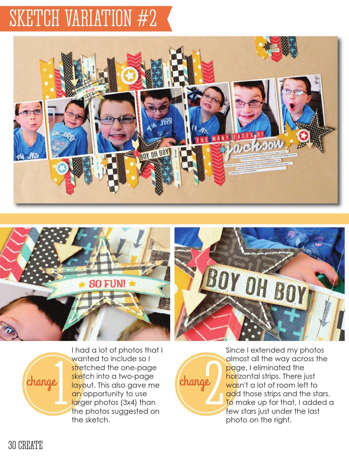 CREATE: Issue 10, October 2014 by Scrapbook Generation - issuu