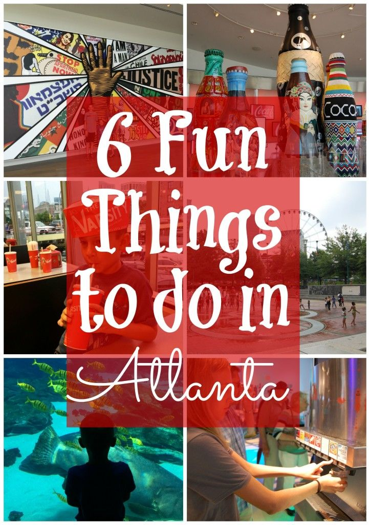 6 Fun Things To Do In Atlanta Georgia With Kids Atlanta Travel