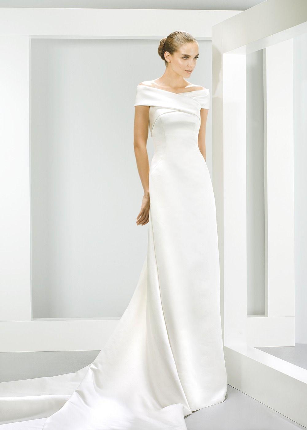 6 beautiful Bardot wedding dresses  7a1517b7af