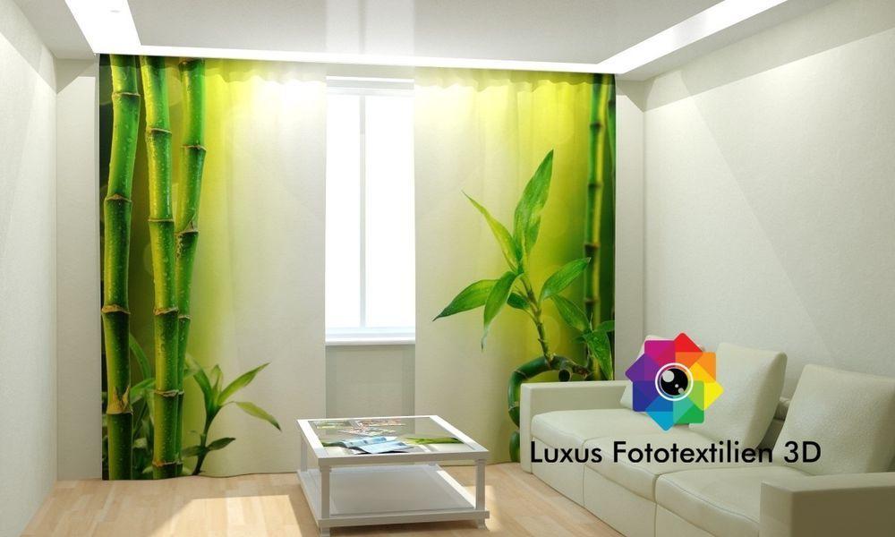 Fotogardinen 3D  - vorhänge blickdicht schlafzimmer