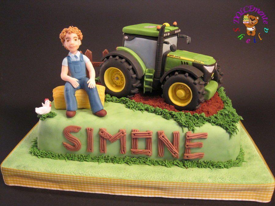 Tractor John Deere torta de Sheila Laura Gallo CakesDecor