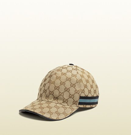 original GG canvas baseball hat with web  Jennyann Alonzo I so see us  wearing this! 092eb15250b5