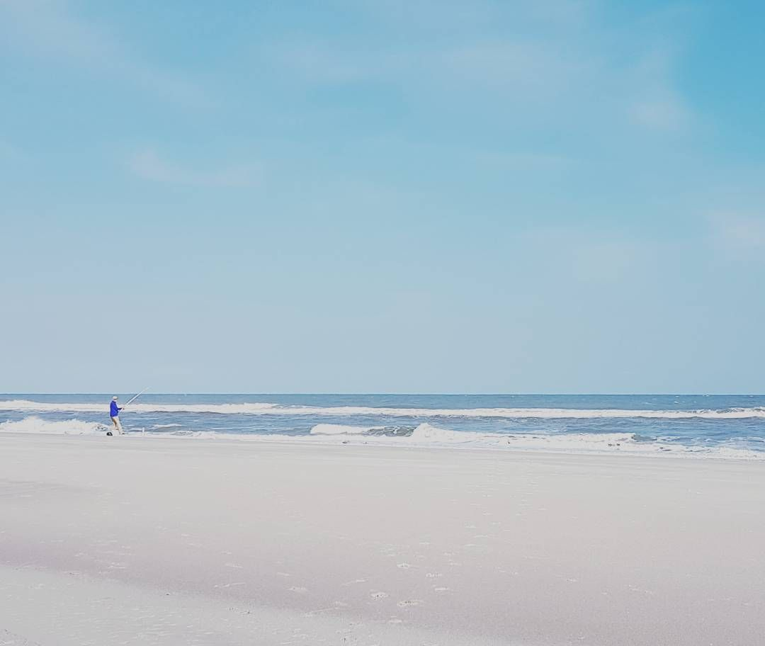 The clouds have parted! #LoveAmelia #beach #sand #water #sky #ocean . . . . . #travelgram #travel #instatravel #instatrip #familytrip #familytravel #vacay #vacation #photooftheday #travel #traveling #fisherman