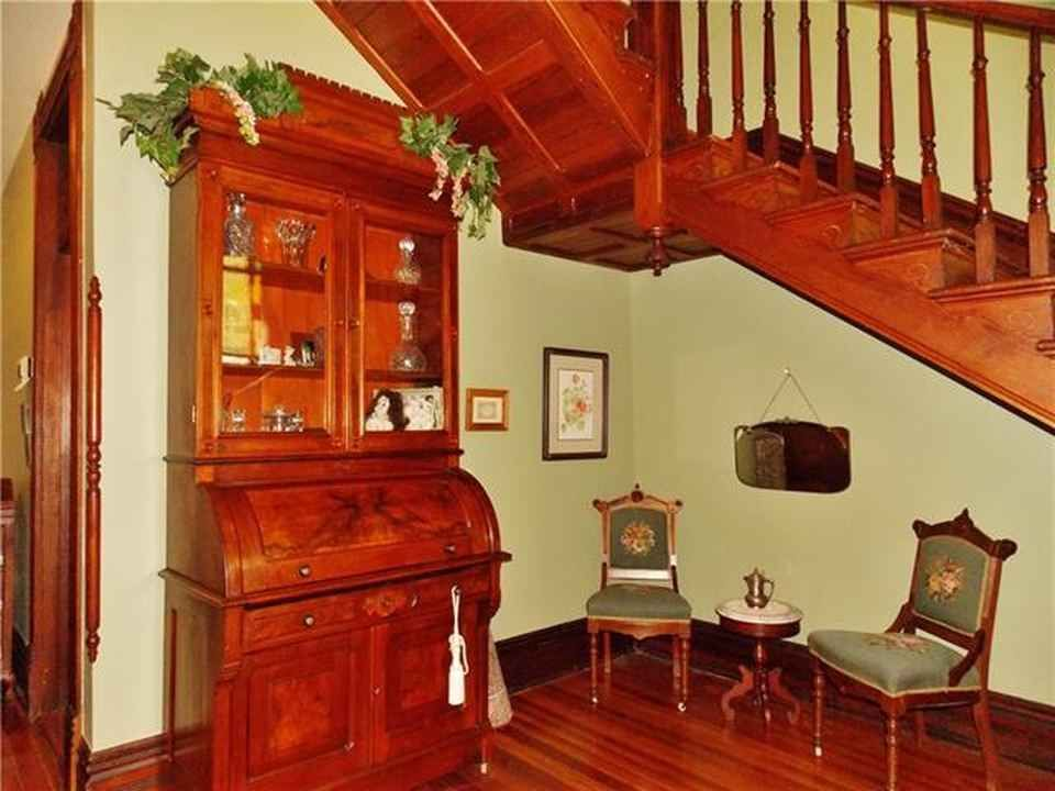 True Victorian Home With 6 Fireplaces Featuring Original