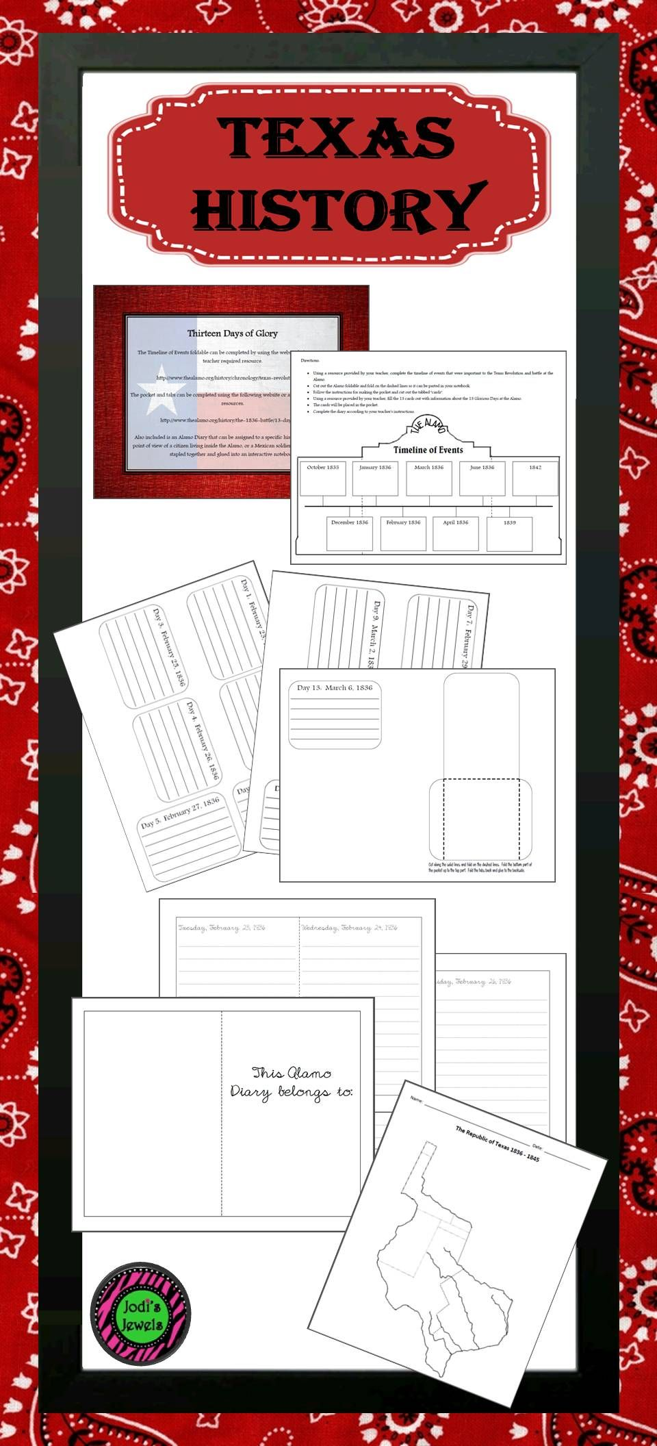 Enrich your texas history unit with this interactive notebook enrich your texas history unit with this interactive notebook texas alamo activity and outline map of robcynllc Gallery