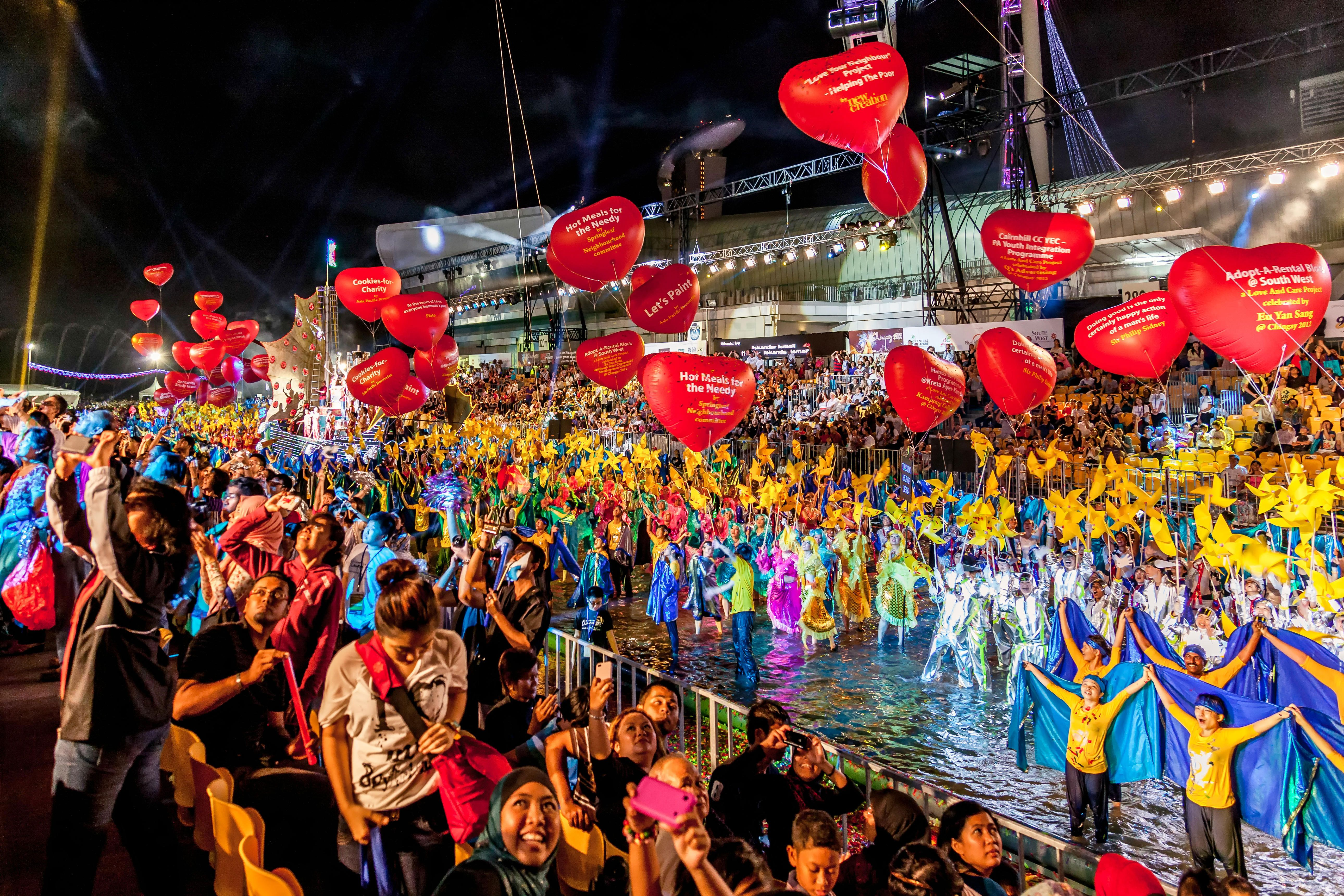 Celebrate Chinese New Year In Style At The Chingay Parade In