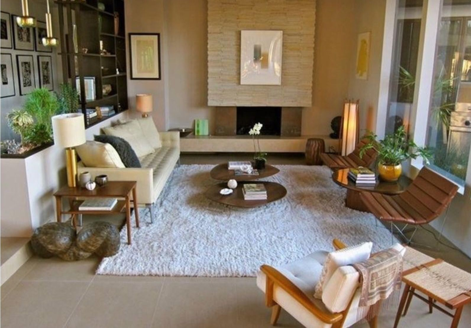 Pin By Markie Roake On Mid Century Living Rooms Sunken Living