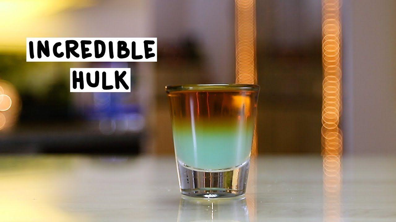 Incredible Hulk Recipe Incredible Hulk Tipsy Bartender The