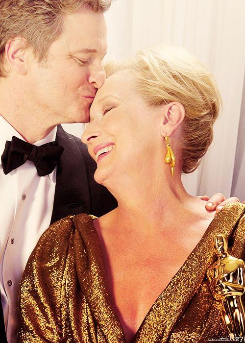 Meryl Streep & Colin Firth | 84th Annual Academy Awards